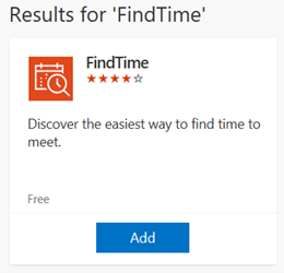 Results for FindTime